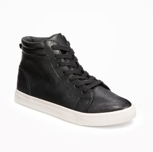 Old Navy Boys Lace-Up High-Tops